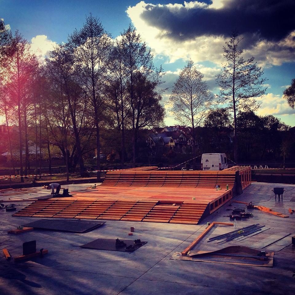 Budowa skateparku w Piszu
