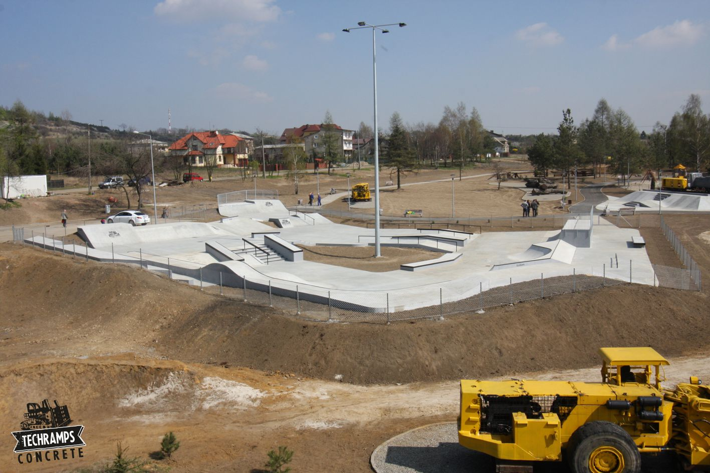 Skatepark w Olkuszu - realizacja