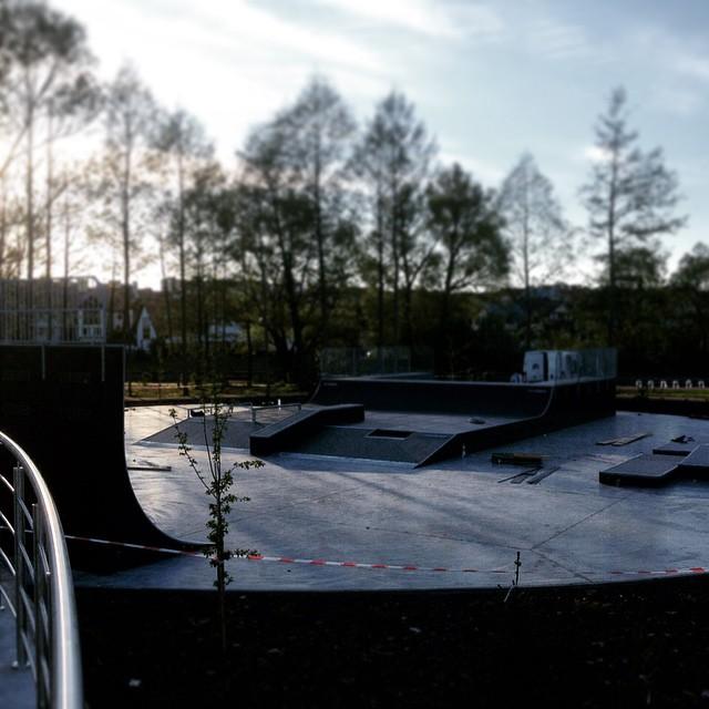 Postęp prac - skatepark w Piszu