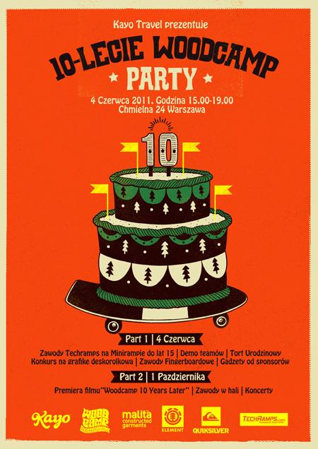 Woodcamp Party - Dziesięciolecie
