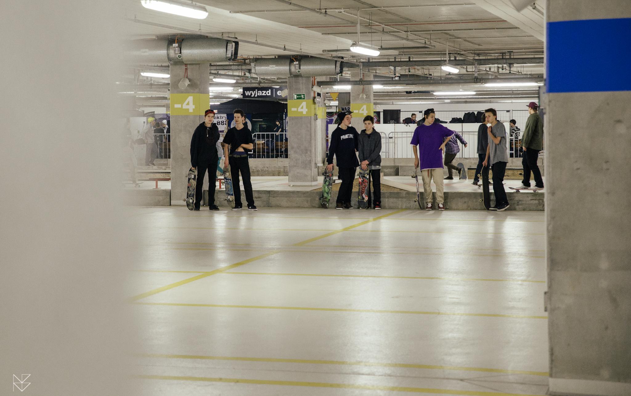 Otwarty skatepark na Stadionie Narodowym