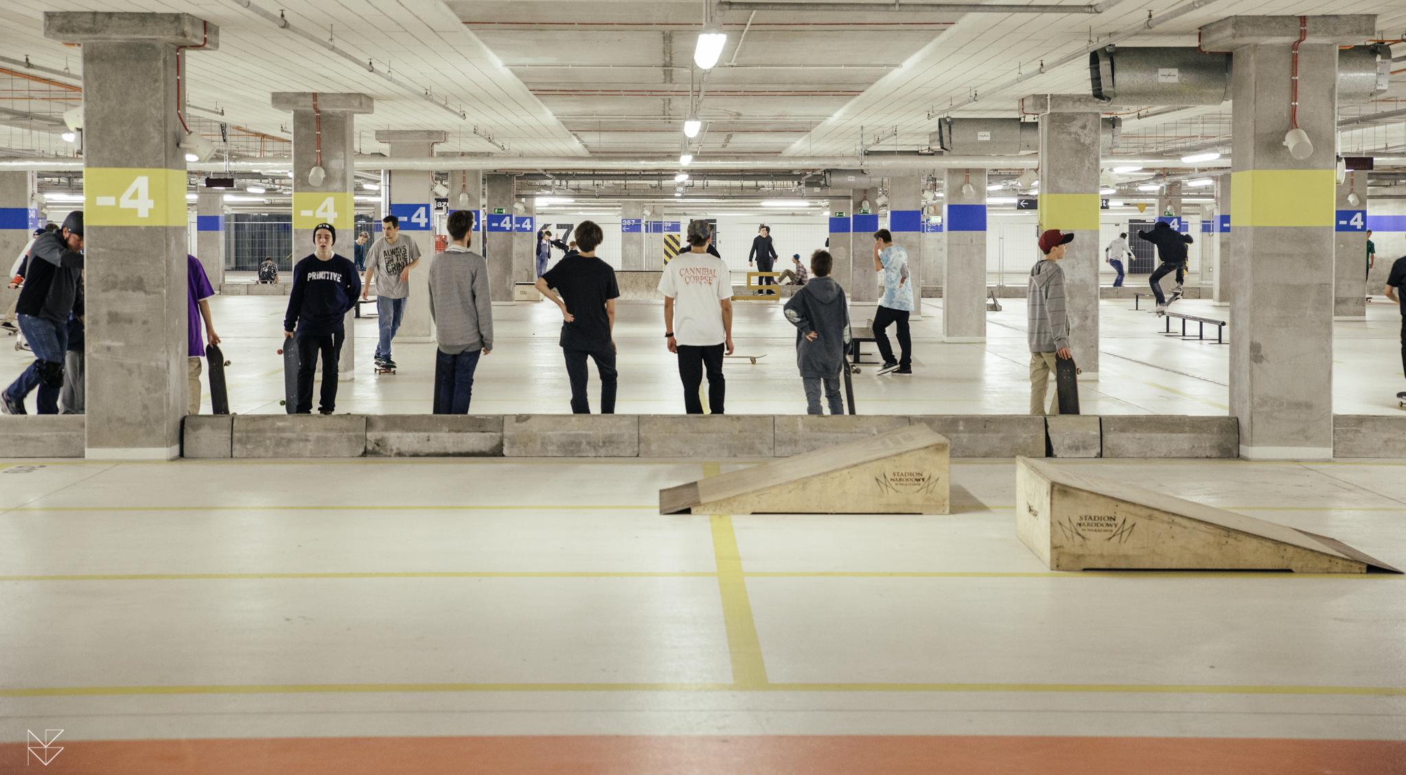 Skatepark w Warszawie - Stadion Narodowy
