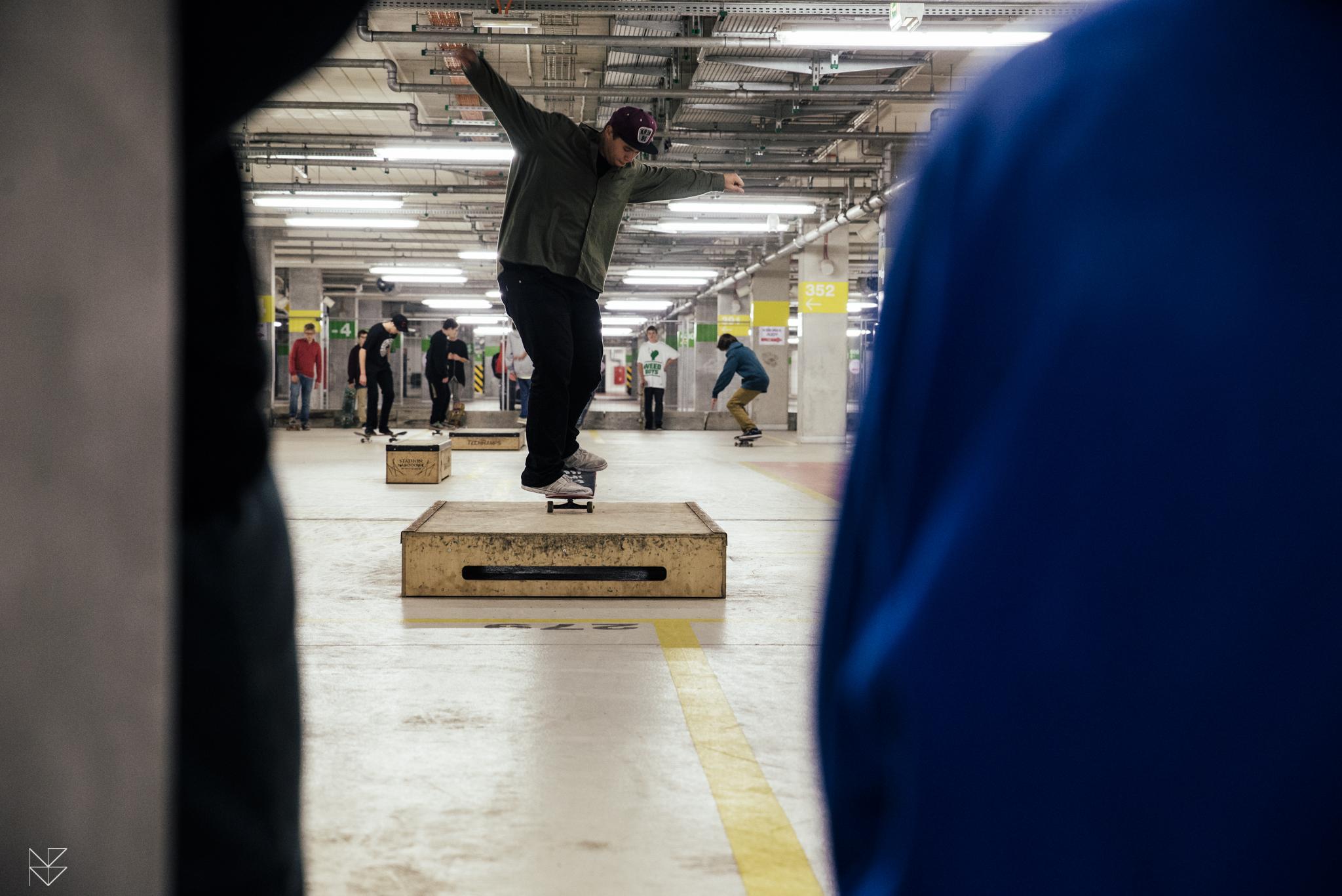 Mini skatepark na Stadionie Narodowym - otwarty