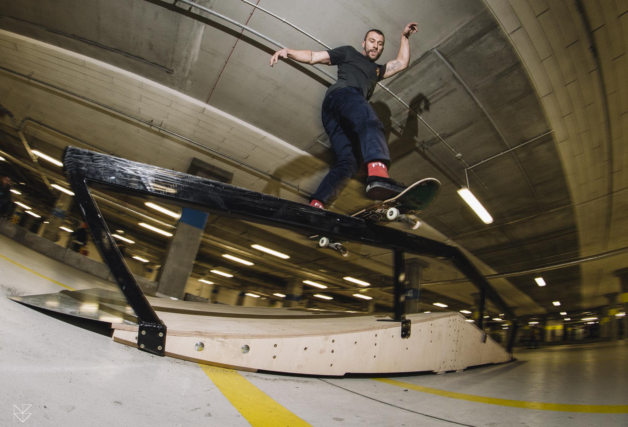 Otwarcie mini skateparku na Stadionie Narodowym