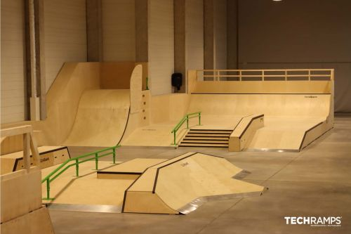 Indoor Skatepark in Krakau