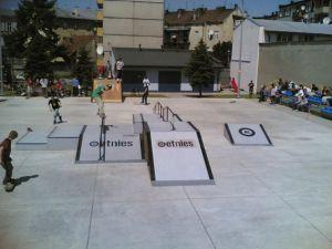Jarosław 2005 skatepark