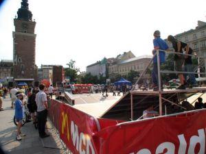 Juliada 2006  Rynek Głowny Kraków