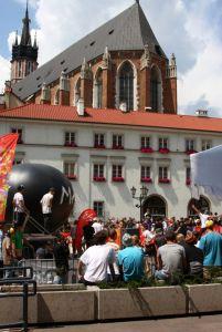 Juliada 2008 Mały Rynek - skatepark Techramps 1