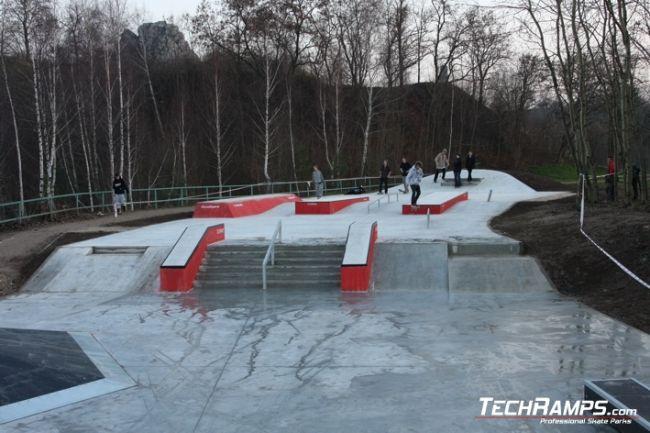 Скејтпарк во Kиелце