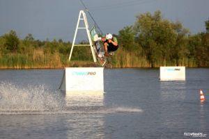 Kicker na wakeparku w Radzyminie