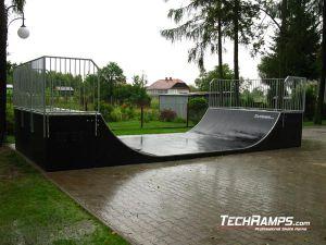 Kłaj skatepark minirampa