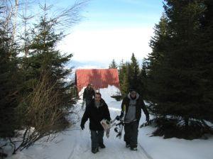 Koninki Snowpark - dach