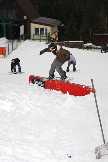 koninki snowpark - Maciek Heczko