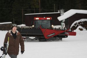 Koninki Snowpark - ratrak