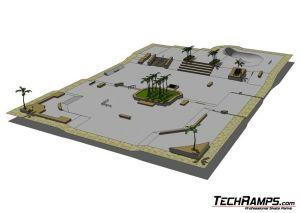 Konkurs Techramps - Skatepark Twoich Marzeń - hybryd skatepark - 1
