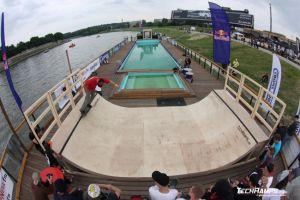 Kraków plaża - Techramps / Cool Sport Skate-Boat Contest