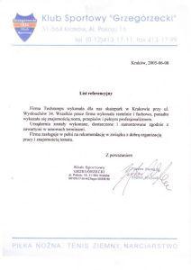 Kraków Referencja