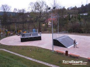 Krynica Zdrój Skatepark  panorama