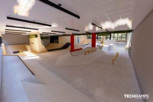 Krytý skatepark ve Varšavě