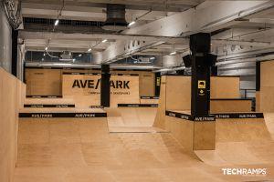 Krytý skatepark vo Varšave