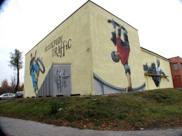 Kryty Skatepark w Czeladzi