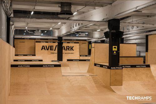 Kryty skatepark w Warszawie - AveBmx