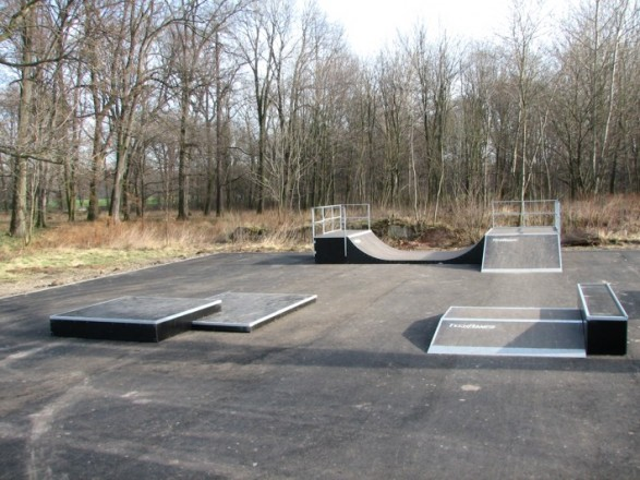 Mини скејтпарк во Wierzbnik