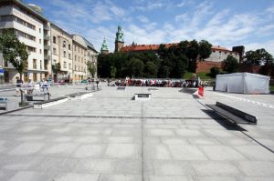 Mini mobilny street park Techramps in Cracow