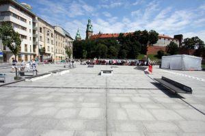 Mini mobilny street park Techramps in Cracow