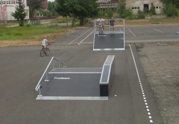 Mini Skatepark in Chojna
