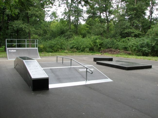 Mini Skatepark in Nidzica