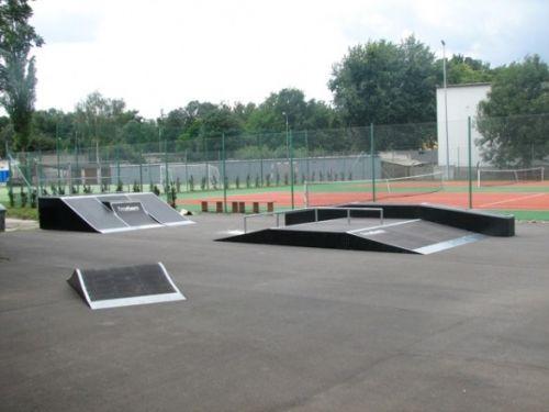 Mini Skatepark in Teresin