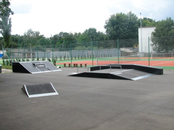 Mini Skatepark in Teresin