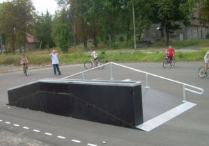 Mini Skatepark w Chojnej 2