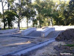 Mini skateparkaza w Stępnicy