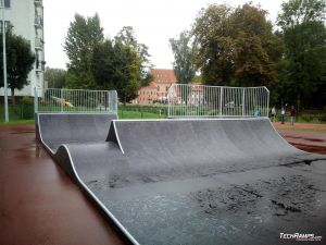 Mini spin ramp from Techramps in Giżycko