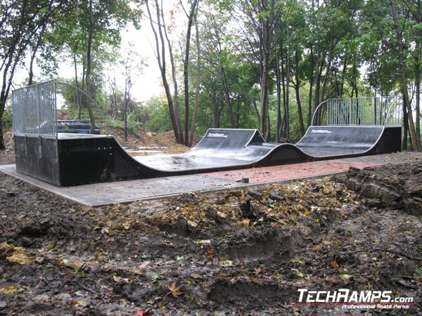 Mini spin ramp in Radzionkow