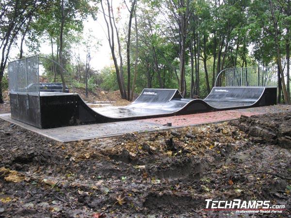 Mini spin ramp w Radzionkowie