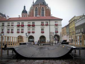Minirampa na Małym Rynku Kraków - 1