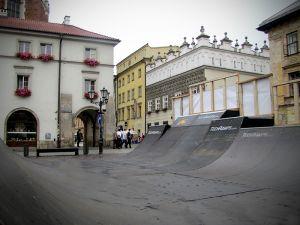 Minirampa na Małym Rynku Kraków - 4