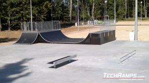 Minirampa +Quarter Pipe