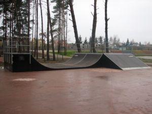 Minirampa - Skatepark w Pobierowie