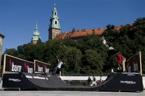Minirampa Techramps in Krakow - Wawel Castle
