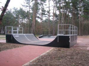 Minirampa - Techramps - Skatepark w Pobierowie