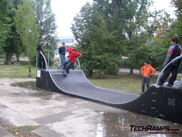 Minirampa w Nowej Kachowce - Ukraina