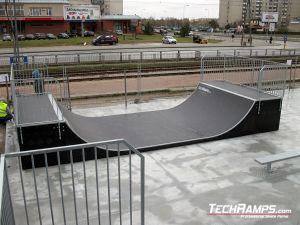 Miniramps skatepark Bemowo