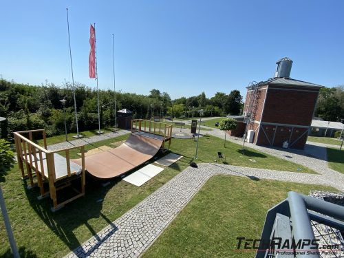Mobile miniramp in Zabrze – rent