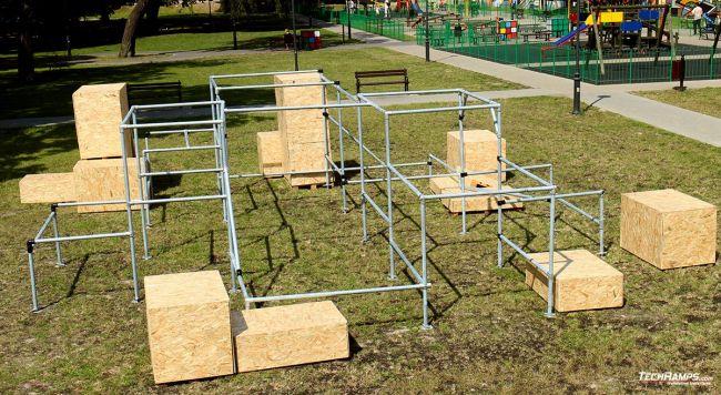 Mobilny Parkour Park Lublin