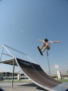 Mobilny skatepark do wypożyczania 11