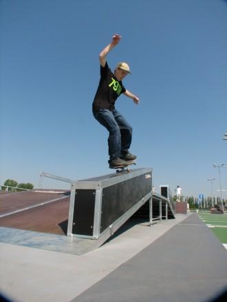 Mobilny skatepark do wypożyczania 12